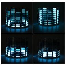 45 x 11cm Sound Music Video Activated Sensor Car Sticker Light Equalizer Blue