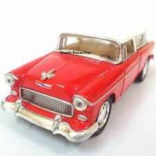 1955 Chevy Nomad, Scale 1:40 , Kinsmart Diecast Pull Back Toy Car.