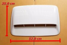 TOYOTA HILUX VIGO FORTUNER 2005-2014 WHITE  HOOD SCOOP COVER SIZE 52 X 35 cm