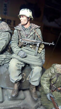 tank rider german soldier scale 1:16 resin kit 120 mm