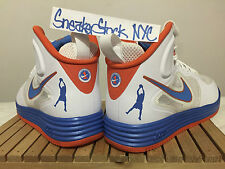 2013 Nike Lunar Force 1 Mid QS Sheed Rasheed Wallace 21 Mercer Home Sz 8 Knicks
