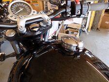 TEC Alloy Gas Tank Adaptor Monza Style Fuel Cap - Triumph Street Twin