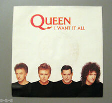 "Queen - I Want It All / Hang On In There  Parlophone 7"" Single"