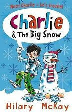 Charlie and the Big Snow, Hilary McKay, New Book