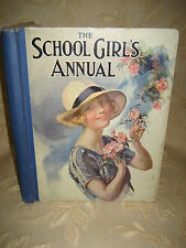 Antique Book Of The School Girl's Annual Vol. V, By Flora Klickmann - 1925