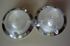 1955 Ford NEW Pair Parking Light Lenses 55