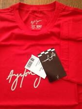 OFFICIAL AYRTON SENNA SIGNATURE T-SHIRT RED