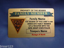 LIFETIME GOLD CARD- FAMILY MEMBER-FAMILY FRIEND- PBA -FOP-FMBA -POLICE