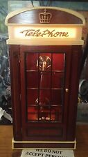 Vintage Spirit of St. Louis Telephone in Phone Booth Type case Religious WORKS