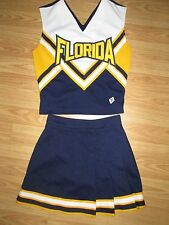 Teen REAL Cheerleader Uniform Outfit Cheer Costume 32/23 FLORIDA Sunshine State