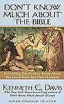 Don't Know Much About the Bible by Kenneth C. Davis pb