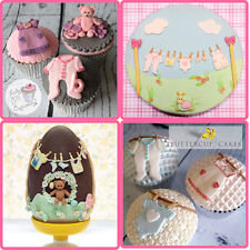 Sugercraft 3D Baby Clothes Silicone Fondant Mould Cake Decorating Mold DIY Tools