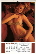 PLAYBOY US 1976 November - Nancy Cameron - Original Kalender zum Geburtstag