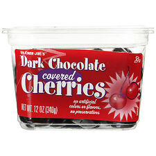 Trader Joe's Dark Chocolate Covered Cherries No Artificial Colors or Flavors, No