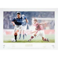 Ally McCoist signed limited edition print