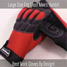 3 PAIRS Mechanic Gloves For Working On Cars Safety Protect Fingers And Hands