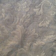 Tapestry brocade Upholstery Fabric Floral Moss Green Tan Cream 2.66 yds x 57""