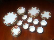 "Royal Albert ""Old Country Roses"" 48 Piece Dinner Set - Original 1962-73"