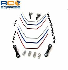 Hot Racing Losi Mini 8ight Buggy Front and Rear Anti Roll Sway Bar Kit OFE311