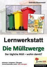 """Lernwerkstatt """"Die Müllzwerge"""" vom Kohlverlag (2010, Geheftet)"""