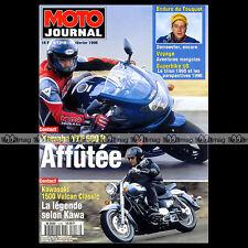 MOTO JOURNAL N°1218 YAMAHA XTZ 660 TENERE KAWASAKI VN 1500 VULCAN CLASSIC 1996