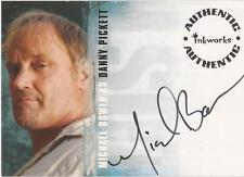 "Lost Season 3 - A-28 Michael Bowen ""Danny Pickett"" Auto / Autograph Card"