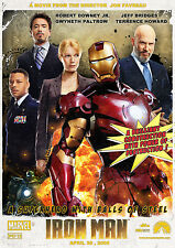 Iron Man Version b Movie Poster  14x20 inches