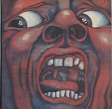 King Crimson - In The Court Of The Crimson King JAPAN LP with LYRIC SHEET #1