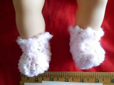 """Doll Clothes Baby bootees  sleepers  shoes Handcrafted fit 14"""" 15"""" Bitty Baby"""