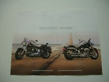 2003 HARLEY DAVIDSON 100TH FAT BOY FLSTF CUSTOM OEM BROCHURE SPEC SHEET