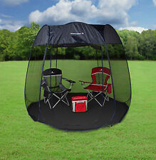 NEW SPORTCRAFT 9' POP UP OUTDOOR MESH SCREEN ROOM CAMPING HEXAGON WITH FLOOR