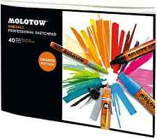 MOLOTOW ONE4ALL PROFESSIONAL SKETCHPAD - MARKER PAPER PAD - A4, LANDSCAPE