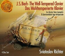 Well-Tempered Clavier - J.S. Bach (2009, CD NEU)4 DISC SET