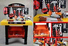 Werkbank 45-teilig für Kinder Spielzeug  Kinderwerkbank Kinderwerkzeug Werkzeug