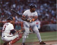 CECIL FIELDER Photo Detroit Tigers in action @ bat 1991 (c)
