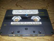 Universal Calibration Test Tape - CHROME  (please read description)