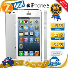 (NEW SEALED BOX) APPLE iPHONE 5 32GB WHITE SILVER 100% UNLOCKED + 12MTH AUS WTY