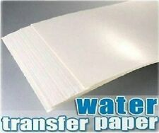 2016 New Hot 5 Pcs A4 Clear Color Inkjet Water Slide Decal Paper Craft Transfer