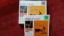 PIERRE BOULEZ - RAVEL THE ORCHESTRAL WORKS.  BOX 3 CD SONY CLASSICAL