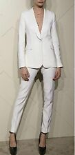 White Fashion Women Ladies Custom Made Business Office Tuxedos Suits Work Wear