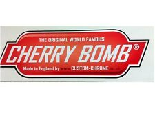 DECAL/STICKER FOR CHERRY BOMB PERFORMANCE EXHAUST