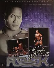 The Rock Layeth The Smacketh Down 16x20 WWE WWF Poster 2000 Dwayne Johnson