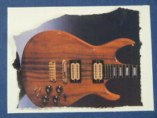 aab handmade greetings / birthday card CARVIN DC200 GUITAR AD