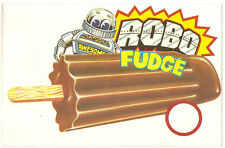 Robo Fudge, Large Collectible Ice Cream Truck Decal/Sticker, New Old Stock