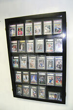 Graded baseball Card DIsplay Case PSA, Beckett 30 Deep
