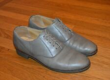 Roots of Canada Men's Gray Leather Oxfords Shoes (Sz 7.5 D)