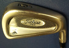 Titleist DCI 762 # 6 Iron Dynamic Gold S300 Stiff Steel Shaft Men Right Hand