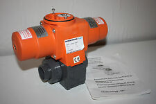 Georg Fisher PA20 Pneumatic Actuator with DN25 Valve, 32mm Socket Weld Fittings