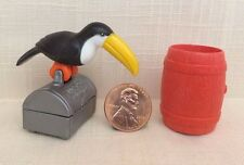 hA6--Toucan Bird, Barrel, Treasure Chest SP-PLAYMOBIL Pirate Diorama Accessories