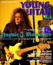 YNGWIE MALMSTEEN ALEXI LAIHO CHILDREN OF BODOM DVD LESSON YOUNG GUITAR 10 2002